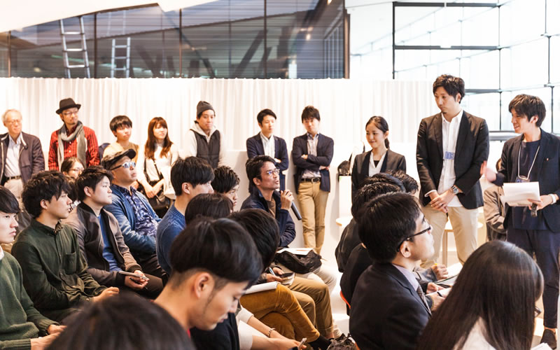 Under35 Architects exhibition2017 「設計者のしごと -組織で働くU-35世代と建築-」