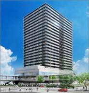 「堺東駅南地区第一種市街地再開発事業 施設建築物新築工事」