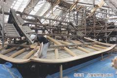 伽藍堂 小屋組修理の状況