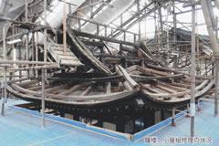 鐘楼 小屋組修理の状況