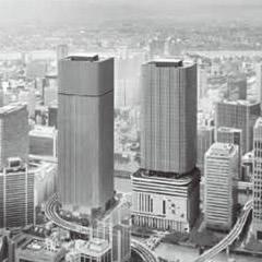 「中之島フェスティバルタワー・ウエスト新築工事」