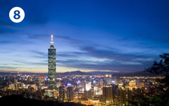 世界貿易センター広場(伊東豊雄)、台北101